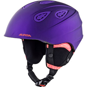 Alpina Grap 2.0 L.E. Casque de ski, royal-purple matt